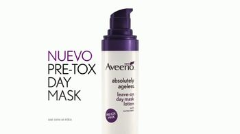 Aveeno Absolutely Ageless Pre-Tox Day Mask TV Spot, 'Descubre' [Spanish] - Thumbnail 5