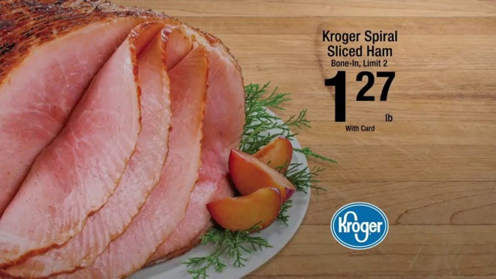 The Kroger Company TV Commercial, 'Holiday Inspiration: Ham'