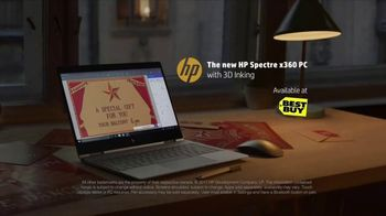 HP Spectre x360 PC TV Spot, 'Reinvent Giving: Create Wonder in Your World' - Thumbnail 9