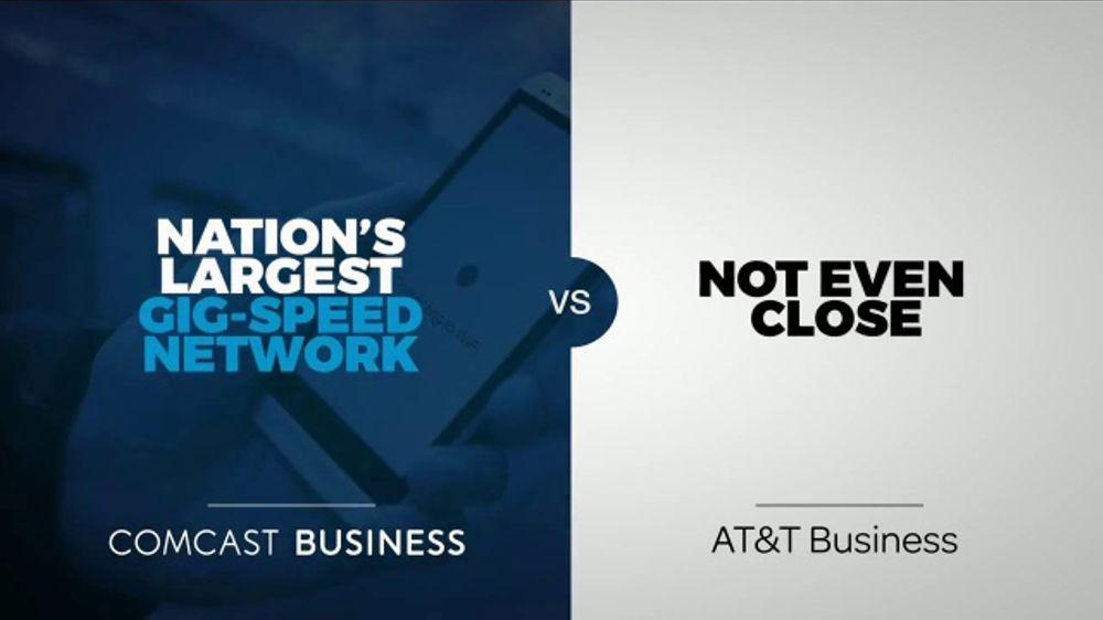 Comcast Business Internet and Voice TV Commercial, 'No Comparison'