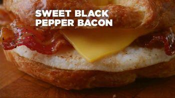 Dunkin' Donuts Sweet Black Pepper Bacon Sandwich TV Spot, 'It's Back' - Thumbnail 2