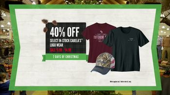Cabela's Christmas Sale TV Spot, 'Slippers, Logo Wear and Binoculars' - Thumbnail 6