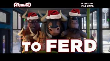 Ferdinand - Alternate Trailer 35
