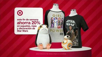 Target Ofertas de Fin de Semana TV Spot, 'Ofertas de Star Wars' [Spanish]
