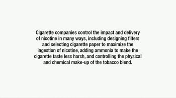 Philip Morris USA TV Spot, 'The Delivery of Nicotine in Cigarettes'