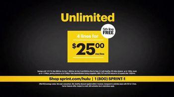 Sprint Unlimited TV Spot, 'Holiday Mall: Hulu' - Thumbnail 9