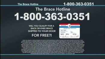 The Brace Hotline TV Spot, 'Medicare-Approved Back Brace or Knee Brace' - Thumbnail 10