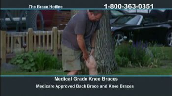 The Brace Hotline TV Spot, 'Medicare-Approved Back Brace or Knee Brace' - Thumbnail 4