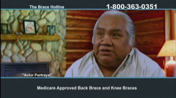 The Brace Hotline TV Spot, 'Medicare-Approved Back Brace or Knee Brace' - Thumbnail 6