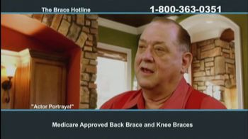 The Brace Hotline TV Spot, 'Medicare-Approved Back Brace or Knee Brace' - Thumbnail 7