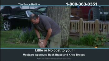 The Brace Hotline TV Spot, 'Medicare-Approved Back Brace or Knee Brace' - Thumbnail 8