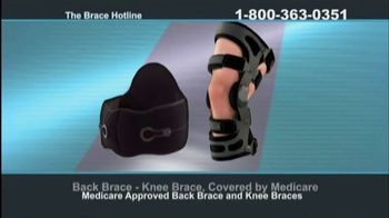 The Brace Hotline TV Spot, 'Medicare-Approved Back Brace or Knee Brace' - Thumbnail 9
