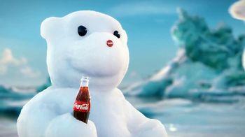 Coca-Cola TV Spot, 'Snow Polar Bear' Song by Edvard Grieg - Thumbnail 6