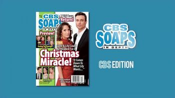 CBS Soaps in Depth TV Spot, 'Young & Restless: Christmas Miracle'