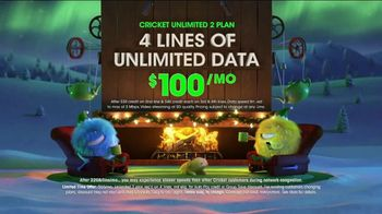 Cricket Wireless Unlimited 2 Plan TV Spot, 'Holiday Magic: LG Fortune' - Thumbnail 2