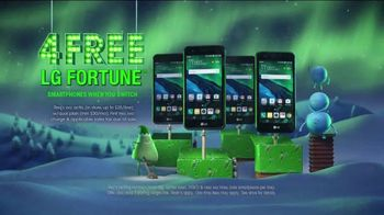 Cricket Wireless Unlimited 2 Plan TV Spot, 'Holiday Magic: LG Fortune' - Thumbnail 6