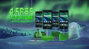 Cricket Wireless Unlimited 2 Plan TV Spot, 'Holiday Magic: LG Fortune' - Thumbnail 7