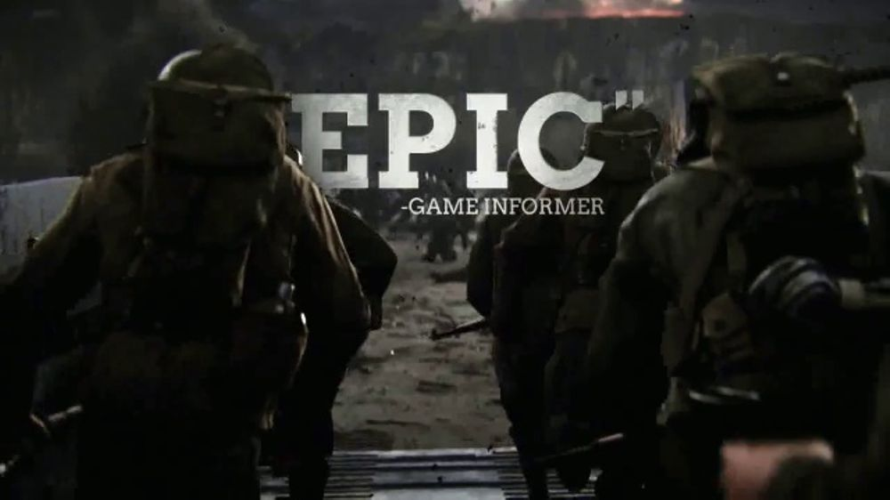 GameStop TV Commercial, 'Call of Duty: WWII Accolades'