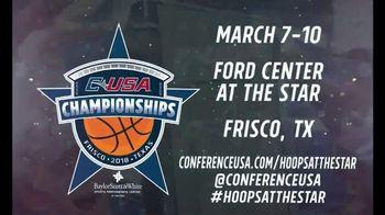 2018 Conference USA Basketball Championship TV Spot, 'Hoops at the Star' - Thumbnail 10