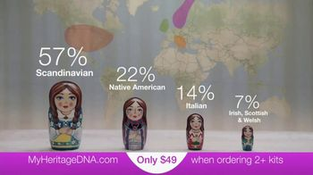 MyHeritage TV Spot, 'Discover Your Ethnic Roots This Holiday Season'