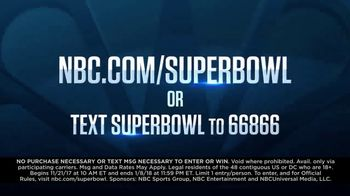 NBC Road to the Super Bowl Sweepstakes TV Spot, 'See It Live' - Thumbnail 10