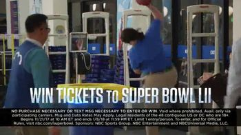 NBC Road to the Super Bowl Sweepstakes TV Spot, 'See It Live' - Thumbnail 8