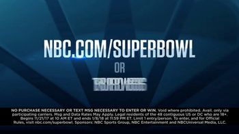 NBC Road to the Super Bowl Sweepstakes TV Spot, 'See It Live' - Thumbnail 9