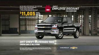 Chevy Employee Discount for Everyone TV Spot, 'Powerful: 2017 Silverado' [T2] - Thumbnail 6
