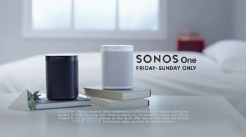 Mattress Firm Winter Slumber Sale TV Spot, 'Wires Crossed: Sonos One' - Thumbnail 7
