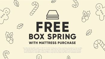 Mattress Firm Winter Slumber Sale TV Spot, 'Free Box Spring: Cozy Up' - Thumbnail 5