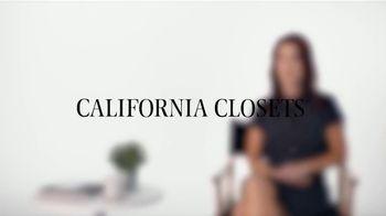 California Closets TV Spot, 'Melissa's Story' - Thumbnail 1