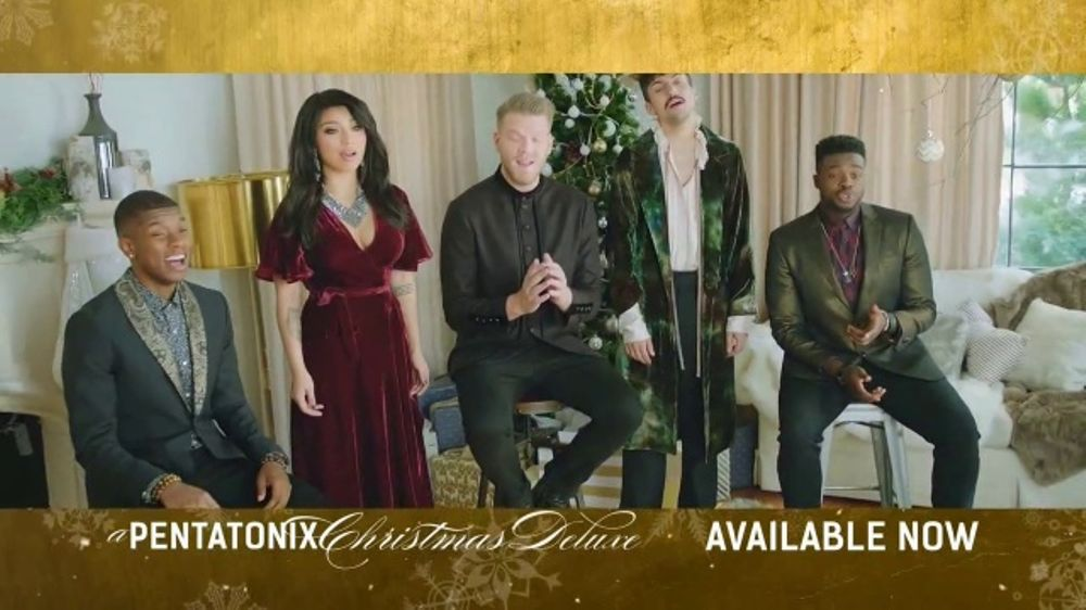 Pentatonix Christmas Deluxe.Pentatonix A Pentatonix Christmas Deluxe Tv Commercial Video