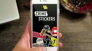Oxygen Crime Stickers TV Spot, 'Basically a Detective' - Thumbnail 7