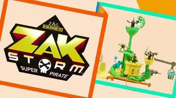Zak Storm Super Pirate TV Spot, 'Nickelodeon: Now and Wow' - Thumbnail 2