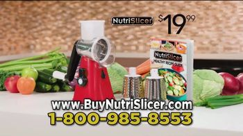 NutriSlicer TV Spot, 'Creating Healthy Meals' - Thumbnail 9