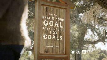 Smokey Bear TV Spot, 'Wildfire Prevention: Hot Coals' - Thumbnail 9