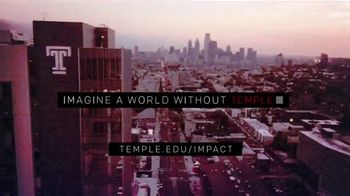 Temple University TV Spot, 'Imagine a World Without Temple' - Thumbnail 9