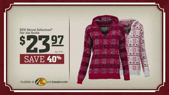 Bass Pro Shops Christmas Sale TV Spot, 'Slippers and Hoodies' - Thumbnail 9