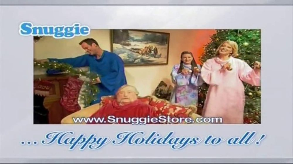 Snuggie TV Commercial, 'We Wish You a Snuggie Christmas'
