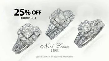 Kay Jewelers Neil Lane Bridal Collection TV Spot, 'Star: December'
