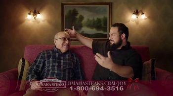 Omaha Steaks Deluxe Gift Package TV Spot, 'Holidays' - Thumbnail 1