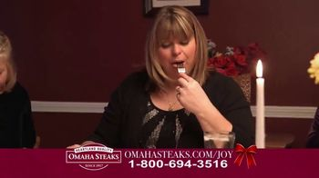 Omaha Steaks Deluxe Gift Package TV Spot, 'Holidays' - Thumbnail 9