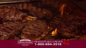 Omaha Steaks Deluxe Gift Package TV Spot, 'Holidays' - Thumbnail 2