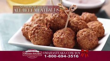 Omaha Steaks Deluxe Gift Package TV Spot, 'Holidays' - Thumbnail 5