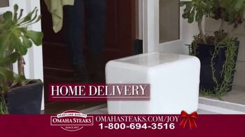 Omaha Steaks Deluxe Gift Package TV Spot, 'Holidays' - Thumbnail 7