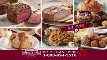 Omaha Steaks Deluxe Gift Package TV Spot, 'Holidays'