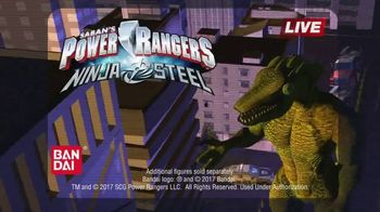 Power Rangers Ninja Steel Master Blade TV Spot, 'Smash' - Thumbnail 9