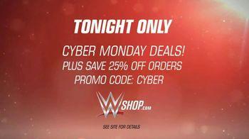 WWE Shop Cyber Monday TV Spot, 'Deals Are Back' - Thumbnail 9