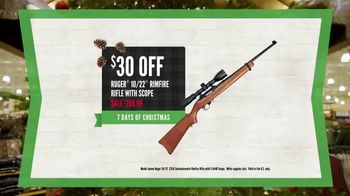 Cabela's Christmas Sale TV Spot, 'Rifle, Ammo and Gun Cases' - Thumbnail 6