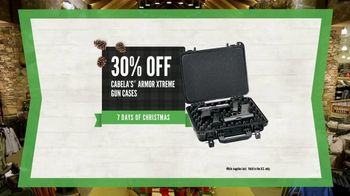 Cabela's Christmas Sale TV Spot, 'Rifle, Ammo and Gun Cases' - Thumbnail 8